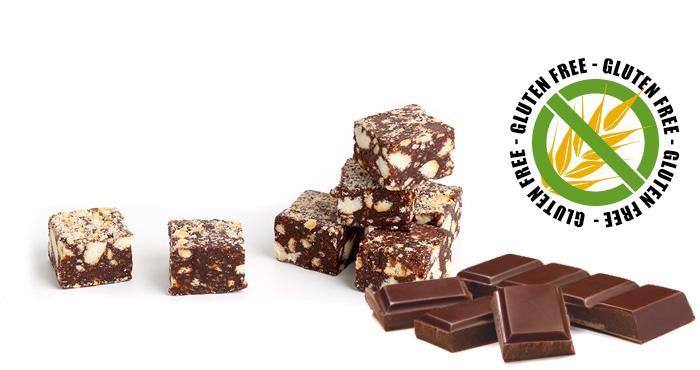 Gluten-free chocolate salami